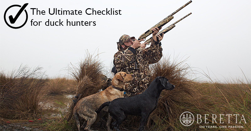 Duck-hunting-checklist