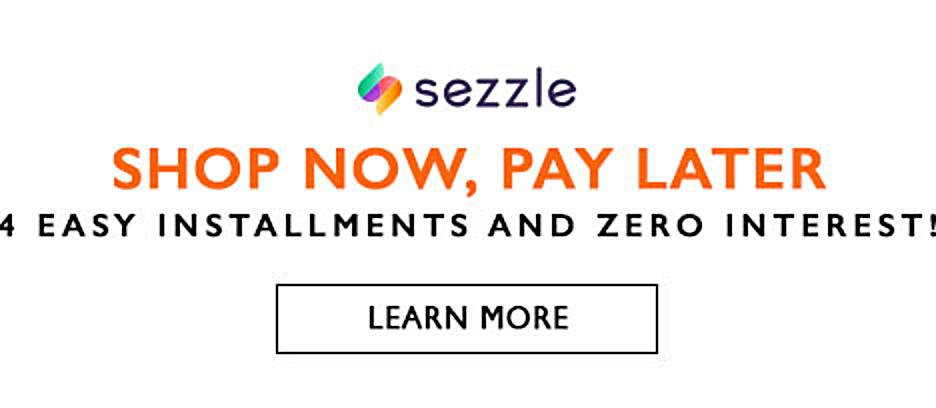 Shop Now, Pay Later with Sezzle